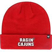 '47 Men's Louisiana-Lafayette Ragin' Cajuns Red Raised Cuffed Knit Beanie