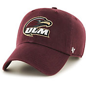 '47 Men's Louisiana-Monroe Warhawks Maroon Clean Up Adjustable Hat