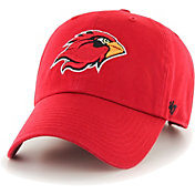 '47 Men's Lamar Cardinals Red Clean Up Adjustable Hat