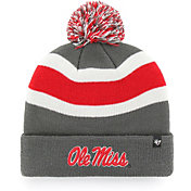 '47 Men's Ole Miss Rebels Grey Breakaway Cuffed Knit Hat