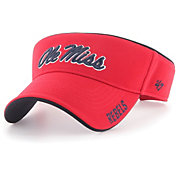 '47 Men's Ole Miss Rebels Red Top Rope Adjustable Visor