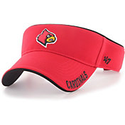 '47 Men's Louisville Cardinals Cardinal Red Top Rope Adjustable Visor