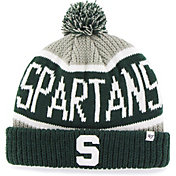 '47 Men's Michigan State Spartans Grey Calgary Cuffed Knit Hat