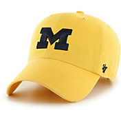 '47 Men's Michigan Wolverines Maize Clean Up Adjustable Hat