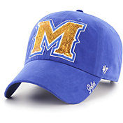 '47 Women's McNeese State Cowboys Royal Blue Sparkle Clean Up Adjustable Hat