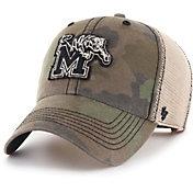 '47 Men's Memphis Tigers Camo Burnett Clean Up Adjustable Hat