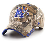 '47 Men's Memphis Tigers Camo Realtree Frost MVP Adjustable Hat