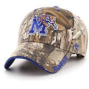 '47 Men's Memphis Tigers Camo Realtree Frost MVP Adjustable Hat