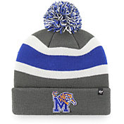'47 Men's Memphis Tigers Grey Breakaway Cuffed Knit Hat