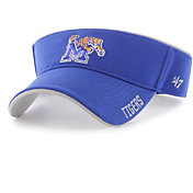 '47 Men's Memphis Tigers Blue Top Rope Adjustable Visor