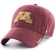 '47 Women's Minnesota Golden Gophers Maroon Sparkle Clean Up Adjustable Hat