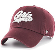 '47 Men's Montana Grizzlies Maroon Clean Up Adjustable Hat