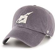 '47 Men's Mississippi State Bulldogs Hudson Clean Up Adjustable Black Hat
