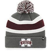 '47 Men's Mississippi State Bulldogs Grey Breakaway Cuffed Knit Hat