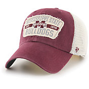 '47 Men's Mississippi State Bulldogs Maroon Crawford Clean Up Adjustable Hat