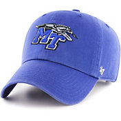 '47 Men's Middle Tennessee State Blue Raiders Blue Clean Up Adjustable Hat