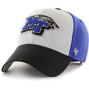 '47 Men's Middle Tennessee State Blue Raiders Blue Tuft MVP Adjustable Hat
