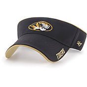 '47 Men's Missouri Tigers Top Rope Adjustable Black Visor