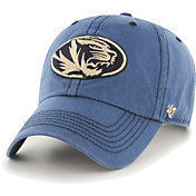 '47 Men's Missouri Tigers Blue Clean Up Adjustable Hat