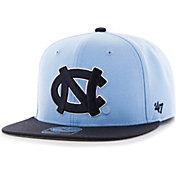 '47 Men's North Carolina Tar Heels Carolina Blue Sure Shot Captain Adjustable Hat