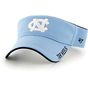 '47 Men's North Carolina Tar Heels Carolina Blue Top Rope Adjustable Visor