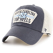 '47 Men's North Carolina Tar Heels Navy Crawford Clean Up Adjustable Hat