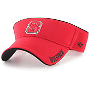 '47 Men's NC State Wolfpack Red Top Rope Adjustable Visor