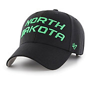 '47 Men's North Dakota Fighting Hawks Script MVP Adjustable Black Hat