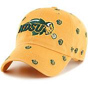 '47 Women's North Dakota State Bison Gold Confetti Adjustable Hat