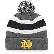 '47 Men's Notre Dame Fighting Irish Grey Breakaway Cuffed Knit Hat