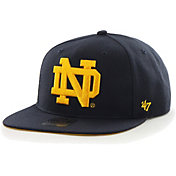 '47 Men's Notre Dame Fighting Irish Navy Shaft Wool Adjustable Hat