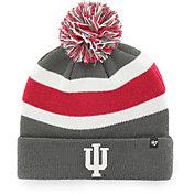 '47 Men's Indiana Hoosiers Grey Breakaway Cuffed Knit Hat