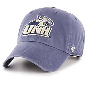 '47 Men's New Hampshire Wildcats Blue Hudson Clean Up Adjustable Hat