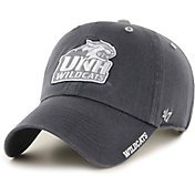 '47 Men's New Hampshire Wildcats Grey Ice Clean Up Adjustable Hat