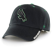 '47 Men's North Texas Mean Green Ice Clean Up Adjustable Black Hat