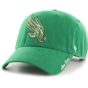 '47 Women's North Texas Mean Green Green Sparkle Clean Up Adjustable Hat