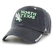 '47 Men's North Texas Mean Green Grey Ice Clean Up Adjustable Hat