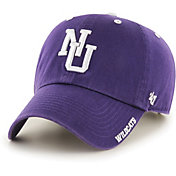 '47 Men's Northwestern Wildcats Purple Ice Clean Up Adjustable Hat