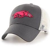 '47 Men's Arkansas Razorbacks Grey Branson MVP Adjustable Hat