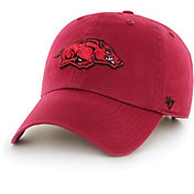 '47 Men's Arkansas Razorbacks Cardinal Clean Up Adjustable Hat