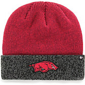 '47 Men's Arkansas Razorbacks Cardinal Marl Two Tone Cuffed Knit Beanie