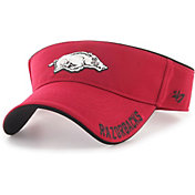 '47 Men's Arkansas Razorbacks Cardinal Top Rope Adjustable Visor