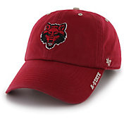 '47 Men's Arkansas State Red Wolves Scarlet Ice Clean Up Adjustable Hat