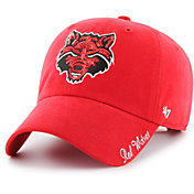 '47 Women's Arkansas State Red Wolves Scarlet Sparkle Clean Up Adjustable Hat