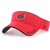 '47 Men's Arkansas State Red Wolves Scarlet Top Rope Adjustable Visor