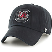 '47 Men's South Carolina Gamecocks Clean Up Adjustable Black Hat