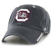 '47 Men's South Carolina Gamecocks Grey Ice Clean Up Adjustable Hat