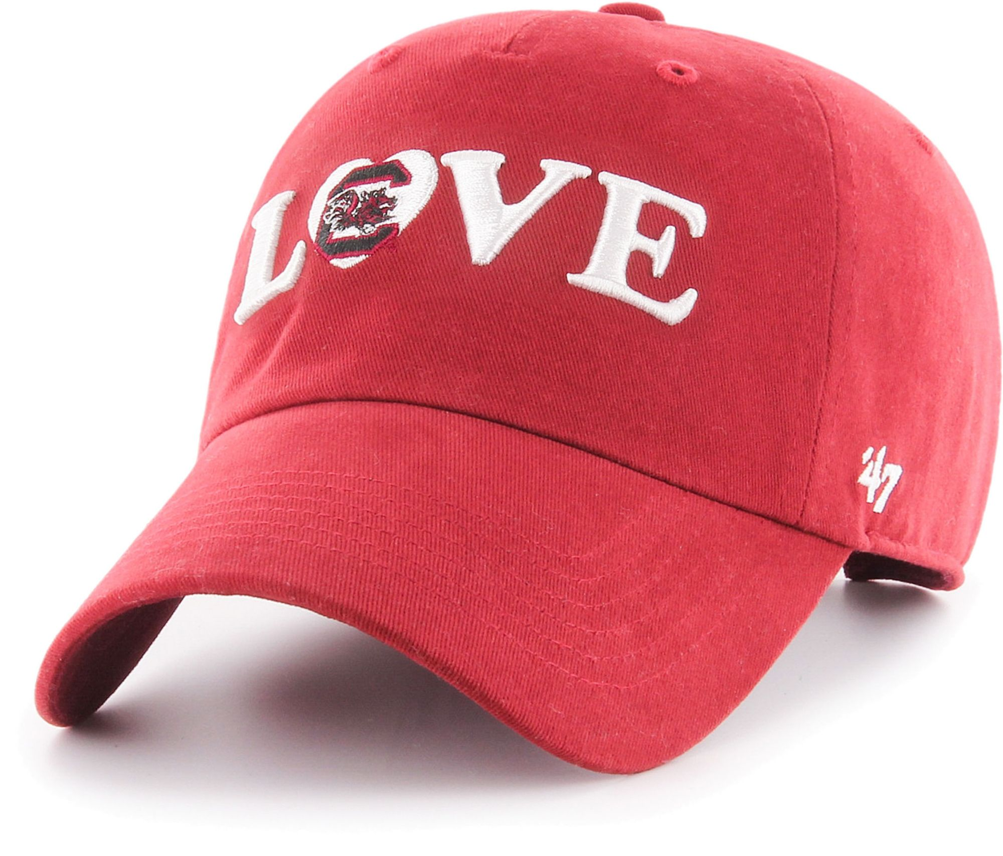 '47 Women's UTEP Miners Blaze Orange Love Script Clean Up Adjustable Hat, Size: One size thumbnail