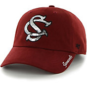 '47 Women's South Carolina Gamecocks Garnet Sparkle Clean Up Adjustable Hat