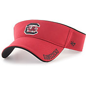 '47 Men's South Carolina Gamecocks Garnet Top Rope Adjustable Visor